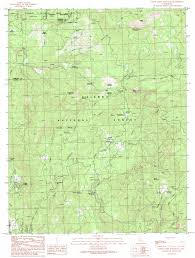 Map Ca White Chief Mountain Topographic Map Ca Usgs Topo Quad 37119d5
