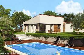 plan villa plain pied 4 chambres plan maison plain pied 4 5 pièces 180 m d architecte 123 villa