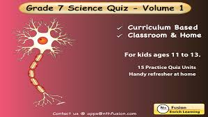 7th grade science quiz 1 practice worksheets for home use and