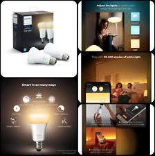 philips 468058 hue white a19 light bulbs 3 pack philips 468058 hue dimmable white a19 light bulbs 3 pack works with