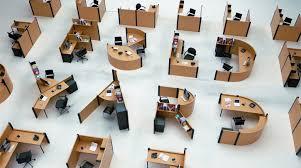 Cubicle Typography Unique Desks As Office Furniture Font Urbanist - Unique office furniture