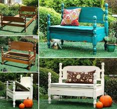 Outdoor Bench With Storage How To Turn Beds Into Garden Bench