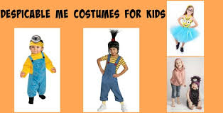 Costumes For Kids Despicable Me Costumes For Kids Minions The Girls And Gru