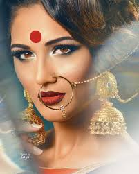 beautiful nose rings images Latest bridal nose rings styles and designs stylo planet jpg
