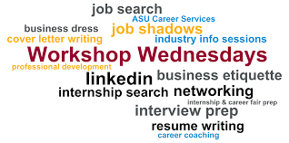 resume writing workshop professional development barrett the honors college workshop wednesdays