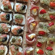 canape firr bildet matrett mat produsere grønnsak dessert smørbrød parti