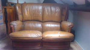 don canapé don ne canapé marron a rénover annonce à douai 59 wb153567157