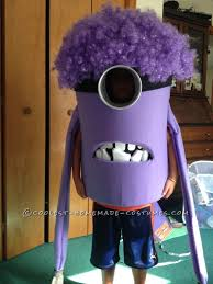 Despicable Halloween Costumes Coolest Homemade Purple Evil Minion Costume Despicable