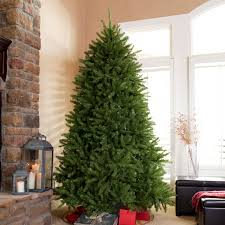 unlit christmas trees national tree unlit 6 1 2 dunhill fir hinged artificial christmas
