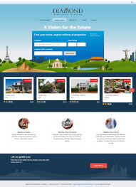 real estate website with mobile phone app buy sell rent
