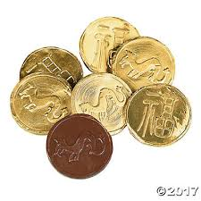 new year coin new year gold chocolate candy coins trading