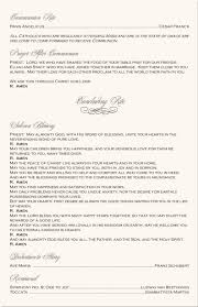 catholic wedding program summer wedding idea catholic wedding program wording and ideas