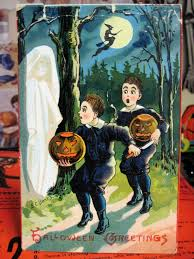tracy u0027s toys and some other stuff antique halloween ghost postcard