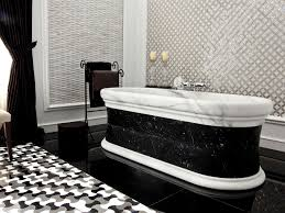 black and white bathroom design bathroom wonderful black and white freestanding bathtub with