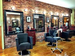 vintage barber shop decor montreals salon lopold the look is a