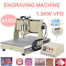 1 5kw 6040 cnc router 4 axis usb engraver cnc engraving milling