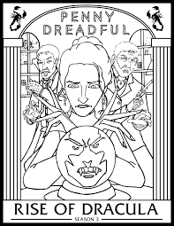 penny dreadful coloring page by c stone penny dreadful