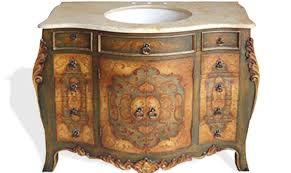 Repainting Bathroom Vanity Hand Painted Bathroom Vanity Hand Carved Furniture Finds U0026 More