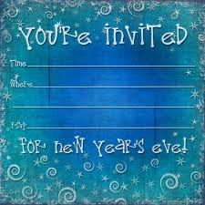 Printable Party Invitation Cards Free Printable New Years Eve Party Invitation Template Printable
