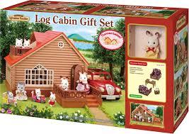 Sylvanian Families Log Cabin Gift Set Luna Löffel  Online At - Sylvanian families living room set