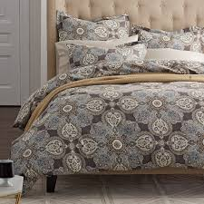 Sateen Duvet Cover King Highland Paisley 400 Thread Count Sateen Duvet Cover The Company
