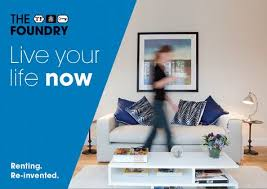 the foundry rental campaign property management slogan