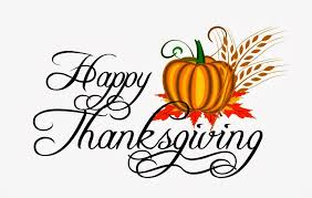 wishing you a happy thanksgiving the admin office will be closed