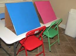 how to make a simple table top easel diy make your own tabletop easels for preschool teach preschool