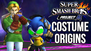 super smash bros costumes halloween super smash bros costume origins project m costumes youtube