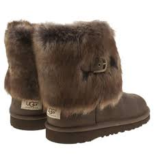 ugg ellee sale brown ugg australia ellee leather youth boots shoes