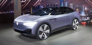 volkswagen electric concept volkswagen id crozz concept electric u0027coupe suv u0027 unveiled