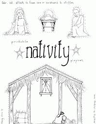 manger advent coloring page coloring home