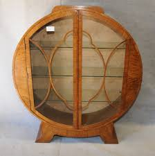 Art Deco Round Display Cabinet Art Deco Circular Display Cabinet Images