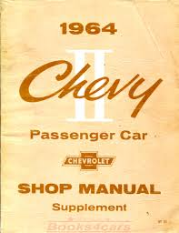 chevrolet chevy ii shop service manuals at books4cars com