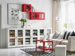 living room ikea storage closet black mahogany wood corner tv