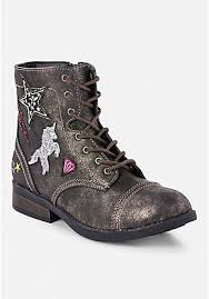 combat boots black friday girls u0027 boots ankle booties riding u0026 snow justice