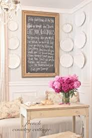 making a chalkboard french country cottage