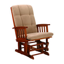 Rocking Chair Cushion Sets Furniture Wonderful Swivel Glider Rocker And Ottoman With Brown