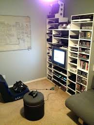 Console Gaming Desk Storage Ideas Desk Media Gaming Console Furniture