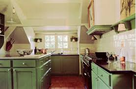 green base cabinets in kitchen bottle green kitchens atticmag