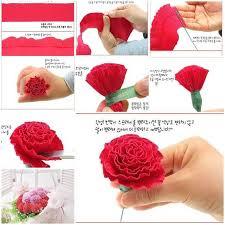 crepe paper flowers diy beautiful crepe paper carnation crepe paper flowers crepe