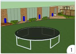 in ground trampoline ground level trampoline