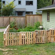 vegetable garden fence ideas how to make a garden fence out of pallets the garden inspirations