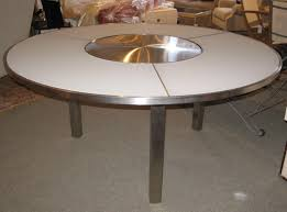 Table Ronde Blanche Avec Rallonge Pied Central by Best Table De Jardin Ronde Avec Pied Central Ideas Awesome