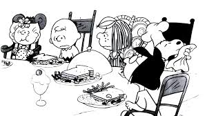 snoopy thanksgiving coloring pages peanuts thanksgiving by bradsnoopy97 on deviantart