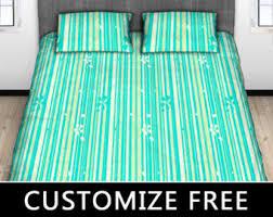 Girls Striped Bedding striped bedding etsy