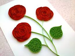 Making Of Flowers With Paper - best 25 quilled roses ideas on pinterest quilling tutorial