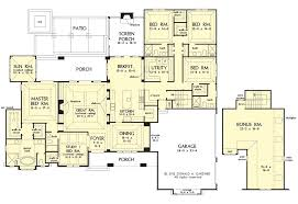 5 bedroom ranch house plans ranch house plans plan open style small with porches 5 bedroom
