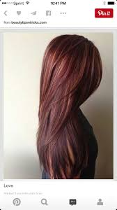 Red Hair Color With Highlights Pictures 62 Best Hair Images On Pinterest Hairstyles Make Up And Braids