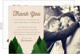 wedding thank you postcards confetti bridal shower thank you card wedding thank you cards